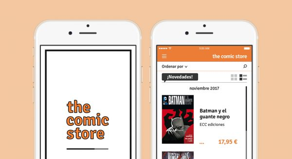 UI Comic store