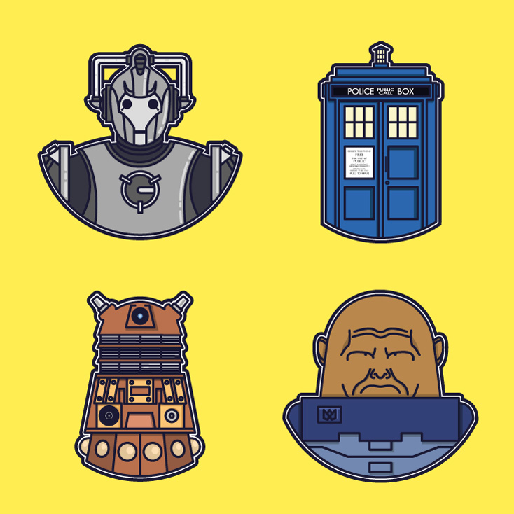 Doctor Who doodles