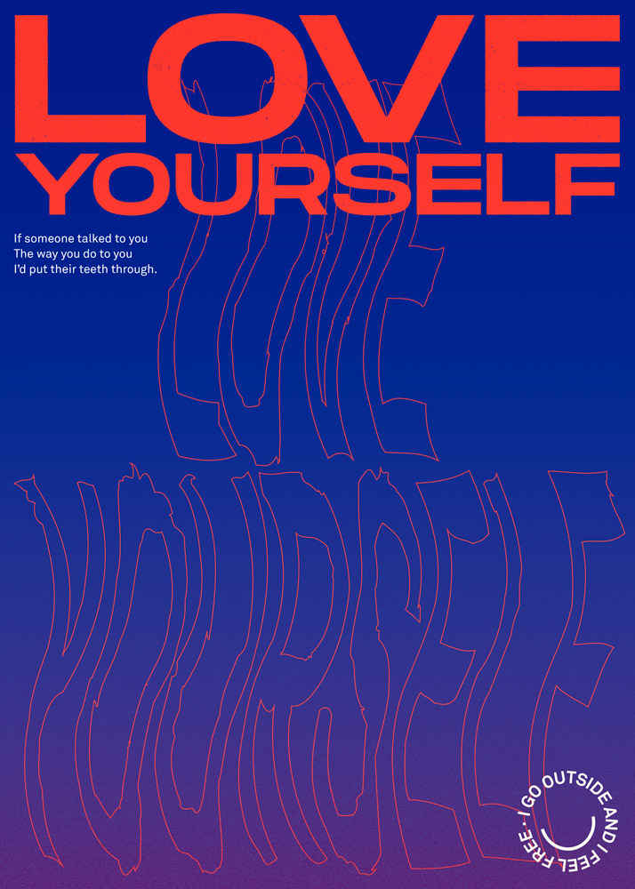 Idles Television Love yourself poster