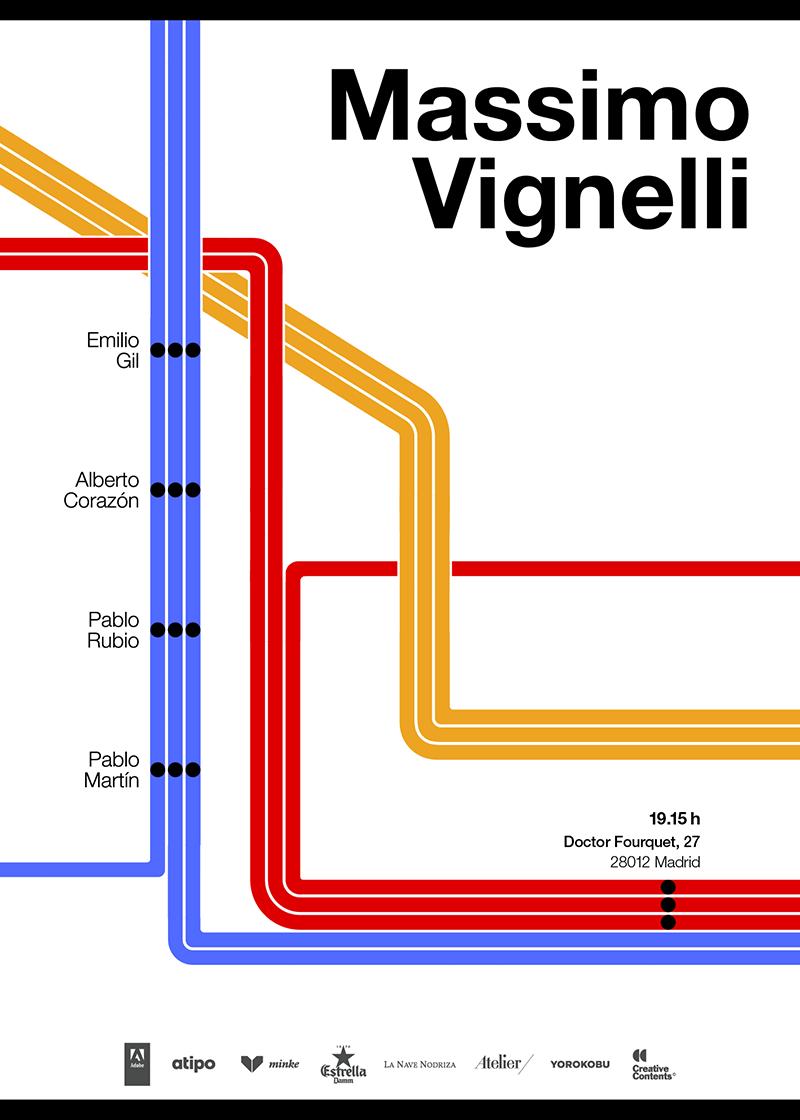 Massimo Vignelli poster