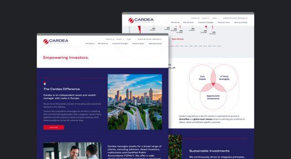 web design investment manager ui design brand identity design corporate